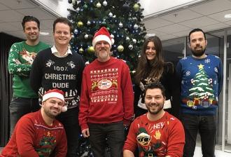 Kerst bij React online
