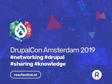 Banner DrupalCon Amsterdam 2019